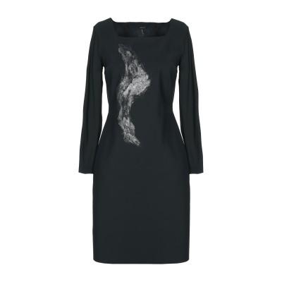 XFECT ミニワンピース&ドレス スチールグレー 42 ナイロン 72% / ポリウレタン 28% ミニワンピース&ドレス