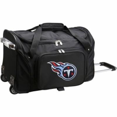 モジョ Mojo Licensing ユニセックス スーツケース・キャリーバッグ バッグ Mojo Tennessee Titans Wheeled Duffle