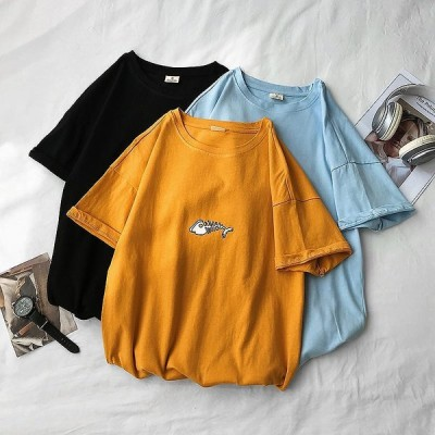 夏の服は男性の半袖Tシャツins原宿港の?潮の札の5分袖のTシャツネットの赤い潮の半分の袖の上着を流します