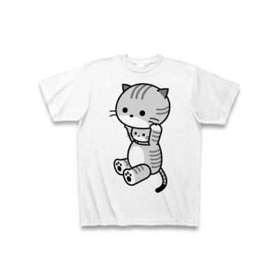 着ぐるみバイトとらねこ Tシャツ(ホワイト)