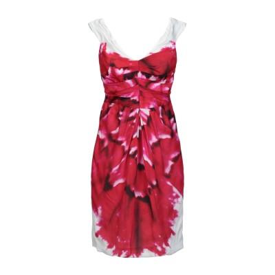 モスキーノ MOSCHINO ミニワンピース&ドレス フューシャ 40 レーヨン 100% ミニワンピース&ドレス