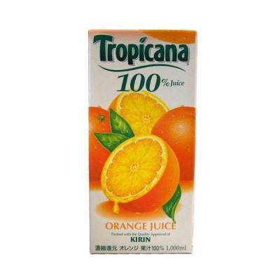 トロピカーナ オレンジジュースパック(LLスリム) 1000ml