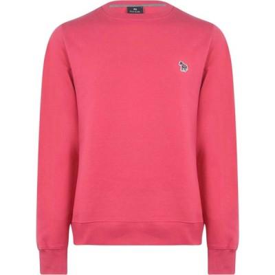 ポールスミス PS Paul Smith メンズ スウェット・トレーナー トップス Zebra Crew Neck Sweatshirt Light Pink