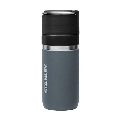 STANLEY(スタンレー) ゴーシリーズ セラミバック 真空ボトル 0.47L チャコールグレー 直飲み 水筒 飲み物 本来の味 保冷 保温 保証 03107-014