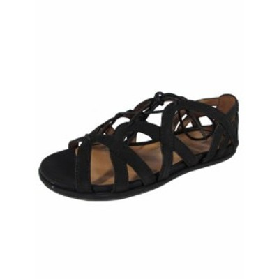 Gentle Souls ジェントルソウルズ ファッション サンダル Gentle Souls Womens Orly Nubuck Low Ghillie Sandals