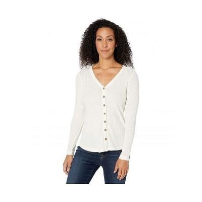 Aventura Clothing アヴェンチュラクロージング レディース 女性用 ファッション Tシャツ Ayla Long Sleeve - Whisper White