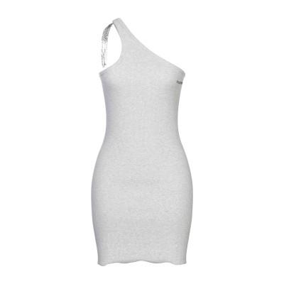 FAP  FILLES A PAPA ミニワンピース&ドレス グレー 3 コットン 95% / ポリウレタン 5% ミニワンピース&ドレス