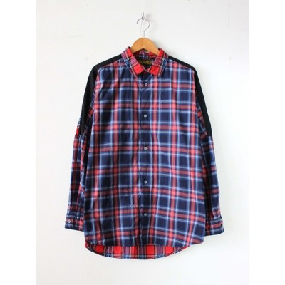 HURRAY HURRAY | フレーフレー - MULTI CHECK L/S SHIRT #RED