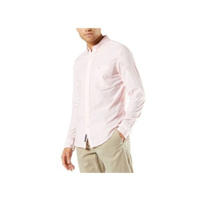 ドッカーズ メンズ シャツ トップス Men's Alpha Icons Slim-Fit Stretch Printed Shirt