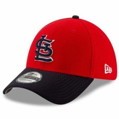 New Era ニュー エラ スポーツ用品  New Era St. Louis Cardinals Red/Navy 2019 Batting Practice 39THIRTY Flex Hat