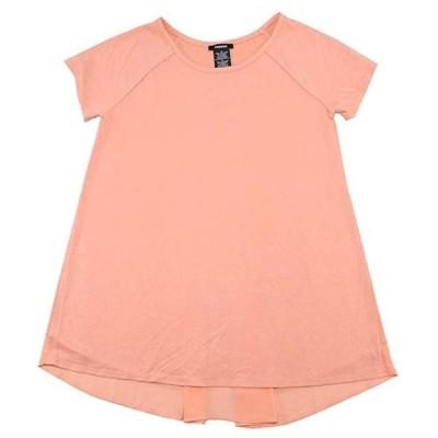 レディース 衣類 トップス Premise Women's Hi Low Short Sleeve Tee Blushing Coral Size XL Tシャツ