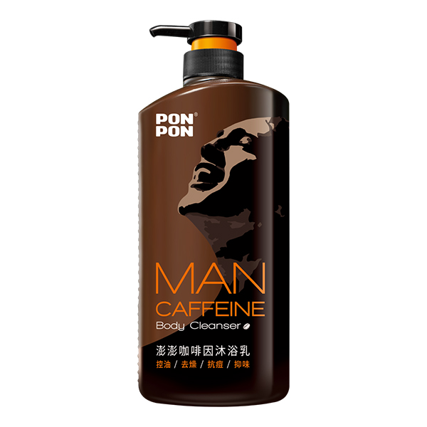 澎澎MAN咖啡因沐浴乳850g