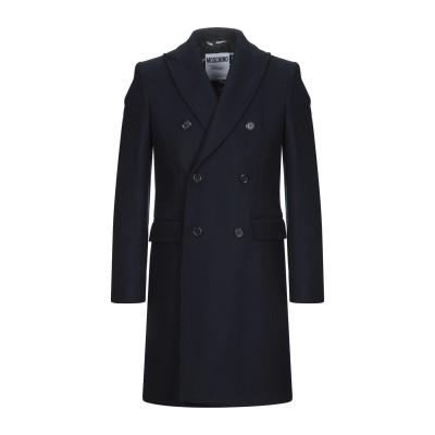 モスキーノ MOSCHINO コート ダークブルー 54 バージンウール 80% / ナイロン 20% コート