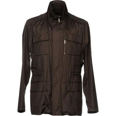 ムーレー MOORER メンズ ジャケット アウター jacket Dark brown