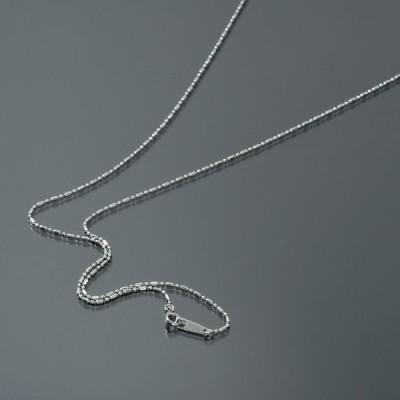 ネックレス チェーン サージカルステンレス 316L カット変形ボールBRチェーン 幅1.2mm 長さ38cm 鎖 ステンレス アクセサリー レディース メンズ