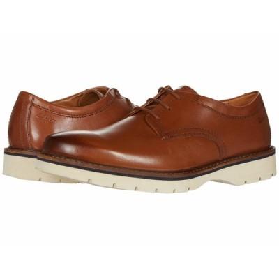 クラークス オックスフォード シューズ メンズ Bayhill Plain Tan Leather