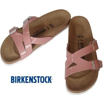 BIRKENSTOCK YAO BALANCE Patent Old Rose ビルケンシュトック ヤオ バランス オールドローズ パテント ナロー幅 GC1016073