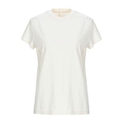リック オウエンス RICK OWENS T シャツ アイボリー 42 コットン 97% / ポリウレタン 3% T シャツ