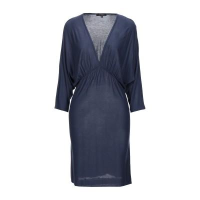 TBAGSLOSANGELES ミニワンピース&ドレス ダークブルー L レーヨン 100% ミニワンピース&ドレス