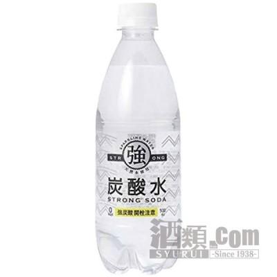 友枡飲料 強炭酸水 500ml(24本入り)
