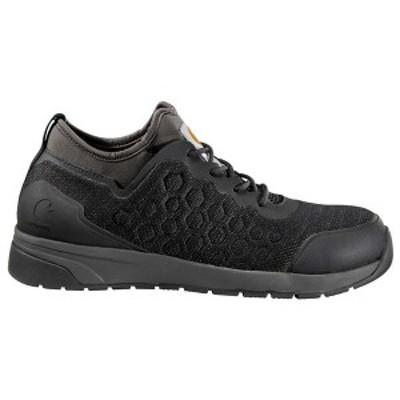 カーハート メンズ ブーツ・レインブーツ シューズ Force 3 Inch Oxford SD Nano Composite Toe Work Shoe Black Mesh  /  Grey Syntheti