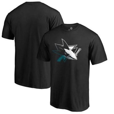 ファナティクス ブランデッド メンズ Tシャツ トップス San Jose Sharks Fanatics Branded Gradient Logo T-Shirt