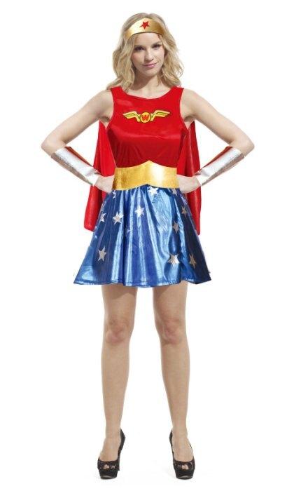 東區派對-萬聖節服裝,萬聖節道具,變裝派對,大人變裝服/神力女超人服裝