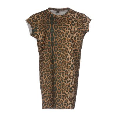 ジジル JIJIL ミニワンピース&ドレス ブラウン 42 コットン 95% / ポリウレタン 5% ミニワンピース&ドレス