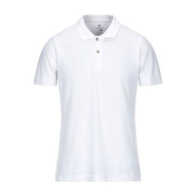 SWS ポロシャツ ホワイト M コットン 100% ポロシャツ