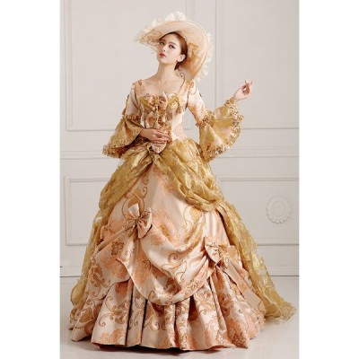 XS~3XL 王族服 貴族服装 オーダーメイド可能 大きいサイズヨーロッパ風 豪華な女王 演出服 パーティードレス ウェディングドレス da565f0f0za