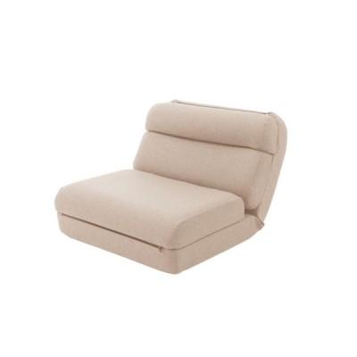 セルタン 日本製 3WAYコンパクト座椅子/A908a-642BE ダリアンベージュ/1人掛け