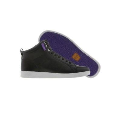 スニーカー メンズ クレー Clae Russell (black / purple) A01235-BLK