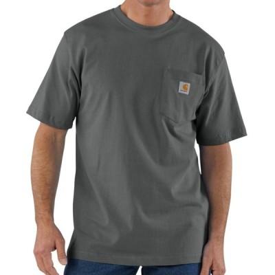カーハート carhartt WORK-WEAR POCKET-TEE ワークウェアー ポケットTシャツ CHARCOAL チャコール