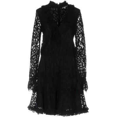 アレクシス ALEXIS ミニワンピース&ドレス ブラック XS ナイロン 45% / レーヨン 33% / コットン 22% ミニワンピース&ドレス