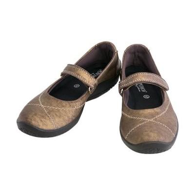 アルコペディコ(ARCOPEDICO) レディース シューズ L'ライン STRAP BALLERINA ストラップバレリーナ ブロンズ 5061810 靴 バレエシューズ