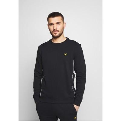 ライルアンドスコット パーカー・スウェットシャツ メンズ アウター Sweatshirt - true black