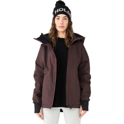 ホールデン ジャケット&ブルゾン レディース アウター Asym Alpine Jacket - Women's Aubergine