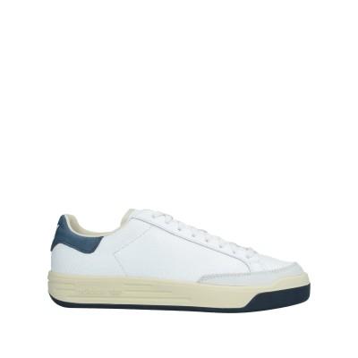 ADIDAS ORIGINALS スニーカー&テニスシューズ(ローカット) ホワイト 10 革 スニーカー&テニスシューズ(ローカット)