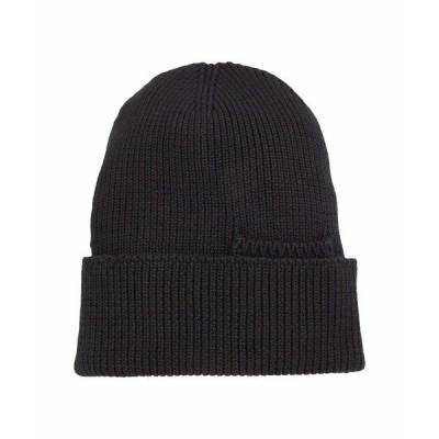 ティレイエンデゥラブル 帽子 アクセサリー メンズ Organic Cotton Beanie Black
