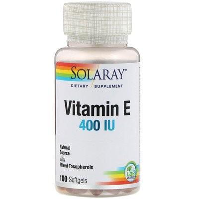 Vitamin E , 400 IU, 100 Softgels