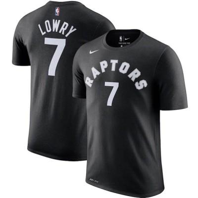 NBA カイル・ロウリー トロント・ラプターズ Tシャツ プレーヤー ネーム & ナンバー? ナイキ/Nike ブラック トレーニング特集【OCSL】