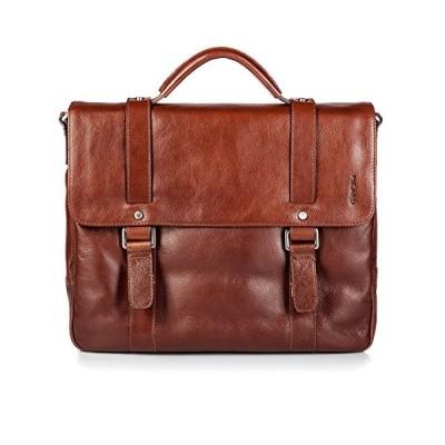 Picard Buddy Briefcase Leather Cognac Brown 並行輸入品