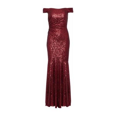 BADGLEY MISCHKA ロングワンピース&ドレス ボルドー 0 ナイロン 100% ロングワンピース&ドレス