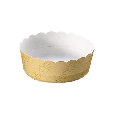 チーズケーキカップ M(イエロー) 100枚入 チーズケーキ 型 , レアチーズケーキ , ガトーショコラ M502-100