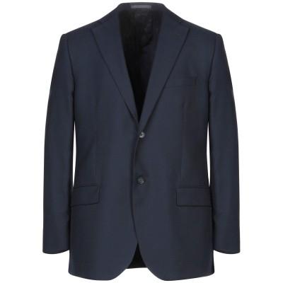 LUBIAM テーラードジャケット ダークブルー 48 コットン 54% / ウール 46% テーラードジャケット