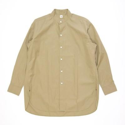 キャプテンサンシャイン フィンクスウェザースタンドカラーシャツ  KAPTAIN SUNSHINE Fink Weather Stand Collar Shirt KS20FSH08