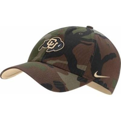 ナイキ メンズ 帽子 アクセサリー Nike Men's Colorado Buffaloes Camo Heritage86 Adjustable Hat