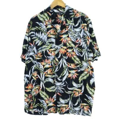 GEORGE レーヨン ハワイアンアロハシャツ XL /eaa050324