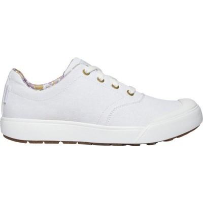 キーン スニーカー シューズ レディース KEEN Women's Elena Oxford Shoes White/White