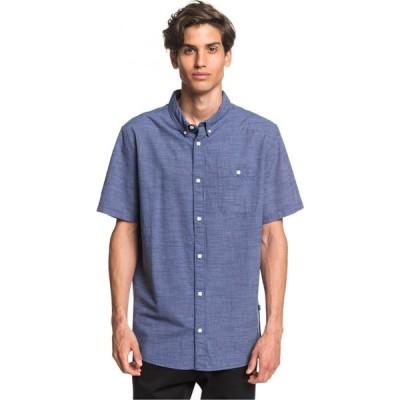 クイックシルバー Quiksilver メンズ シャツ トップス firefall shirt Stone Wash